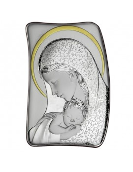 Obrazek srebrny Madonna z dzieciątkiem AE0208/3