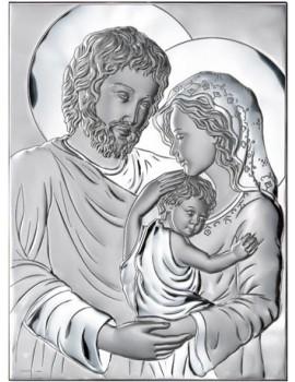 Obrazek srebrny Święta Rodzina IT8180406