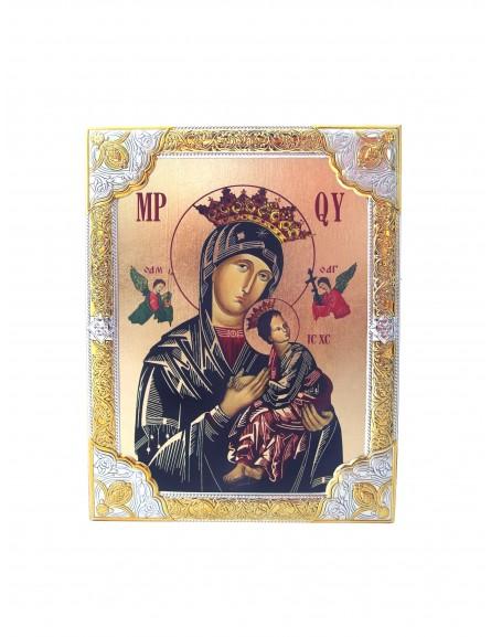 Ikona Srebrna Matka Boska Nieustającej Pomocy IK1B-03SZR