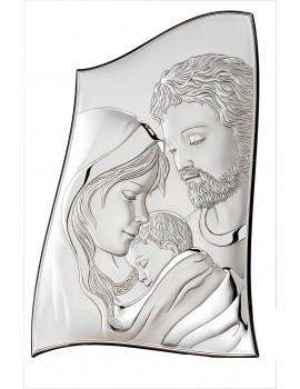 Obrazek srebrny  Święta Rodzina 18012 4