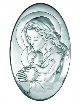 Obrazek srebrny  Madonna z dzieciątkiem 6290/5
