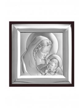 Obrazek srebrny  Madonna z dzieciątkiem 6366/2WM