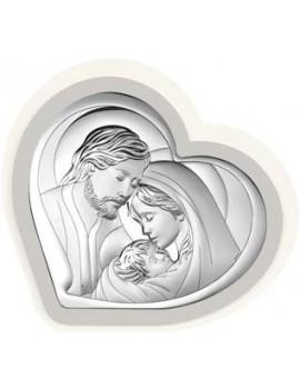 Obrazek srebrny Święta Rodzina 6432/2PG