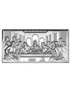 Obrazek srebrny  Ostatnia Wieczerza 6465/2
