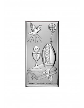Obrazek srebrny Pamiątka Bierzmowania 6682S/2X