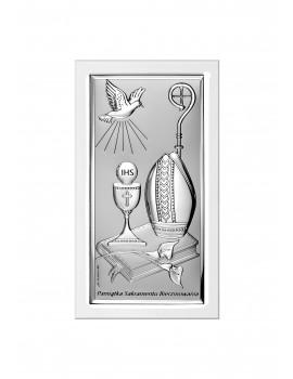 Obrazek srebrny Pamiątka Bierzmowania 6682S/2W