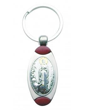 Brelok srebrny Matka Boża z Lourdes B006L