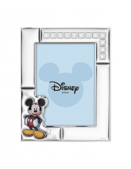 Ramka srebrna Disney D380/4C Myszka Miki