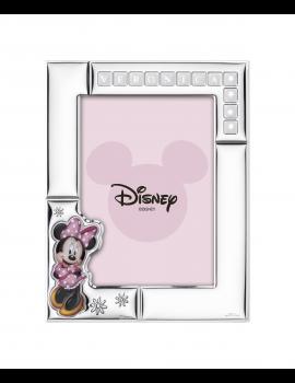 Ramka srebrna Disney D381/4RA Myszka Minnie
