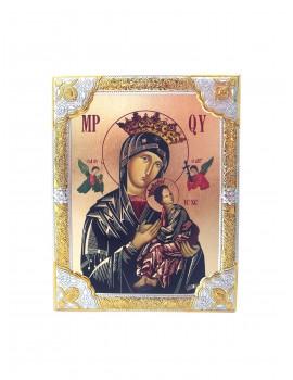 Ikona Srebrna Matka Boska Nieustającej Pomocy IK1A-03SZR