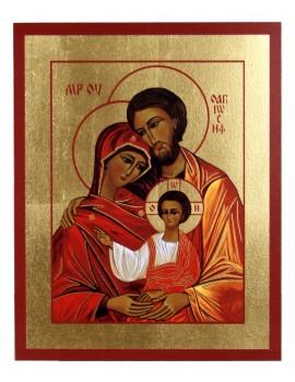 Ikona Złocona Święta Rodzina IK A-01
