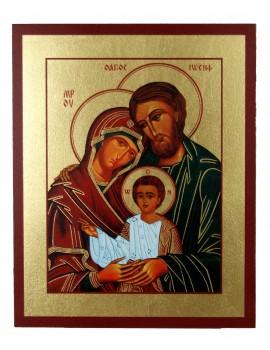 Ikona Złocona Święta Rodzina IK B-03