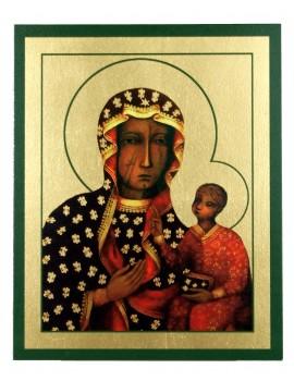 Ikona Złocona Matka Boska Częstochowska IK B-09
