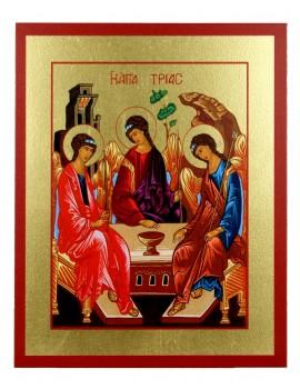 Ikona Złocona Trójca Święta (Trójca Rublowa) IK C-21