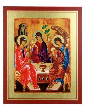 Ikona Złocona Trójca Święta (Trójca Rublowa) IK D-22