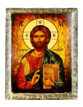Ikona Stylizowana Chrystus Pantokrator IKN D-11