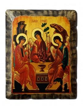 Ikona Stylizowana Trójca Święta (Trójca Rublowa) IKN D-14