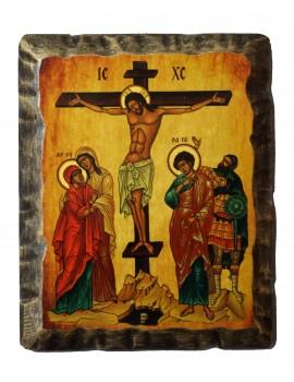 Ikona Stylizowana Trójca Święta (Trójca Rublowa) IKN B-15