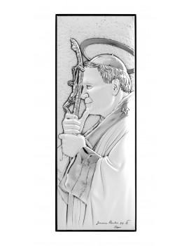 Obrazek srebrny Święty Jan Paweł II 304813
